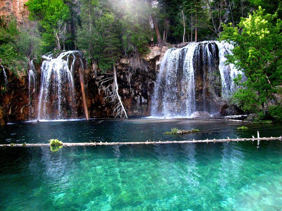 Hanging Lake Trail In Glenwood Springs Co A Designated