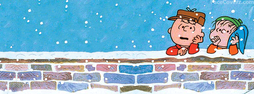 peanuts winter facebook cover facecoverz com | Christmas ...