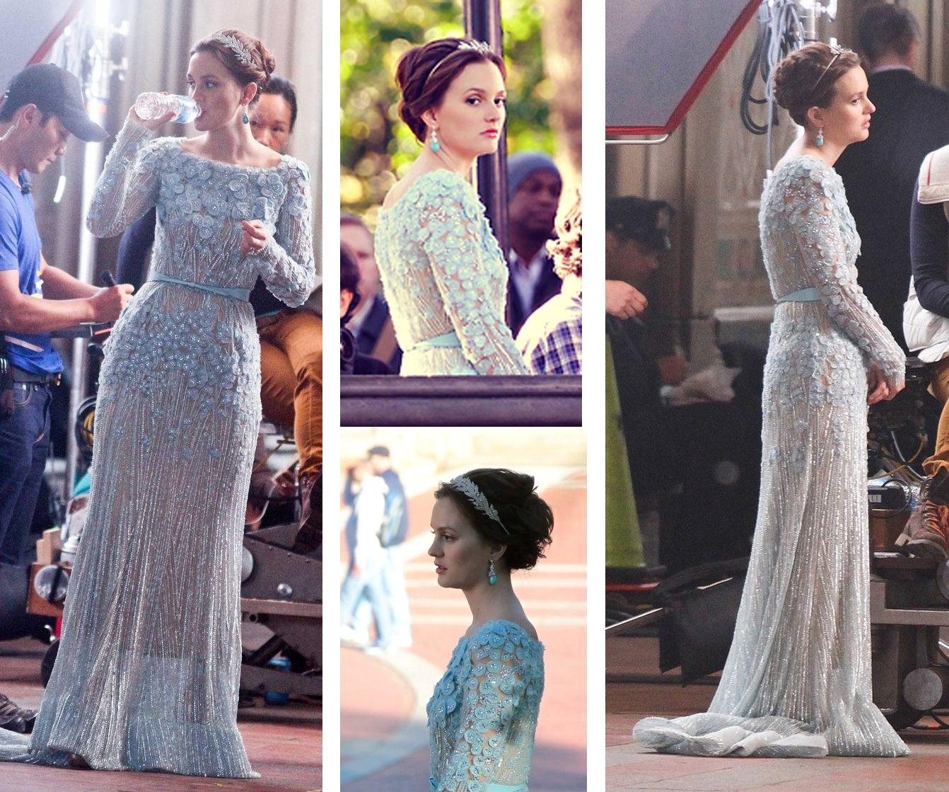 Leighton Meester Wedding Dress