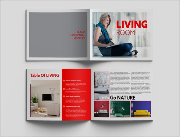 Photo Realistic Corporate Brochure Template Designs - Brochure templates psd free download