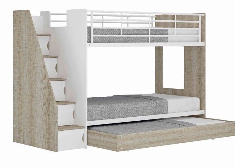 93574048 940 Ew Arrival Single Over Single Bunk Bed With