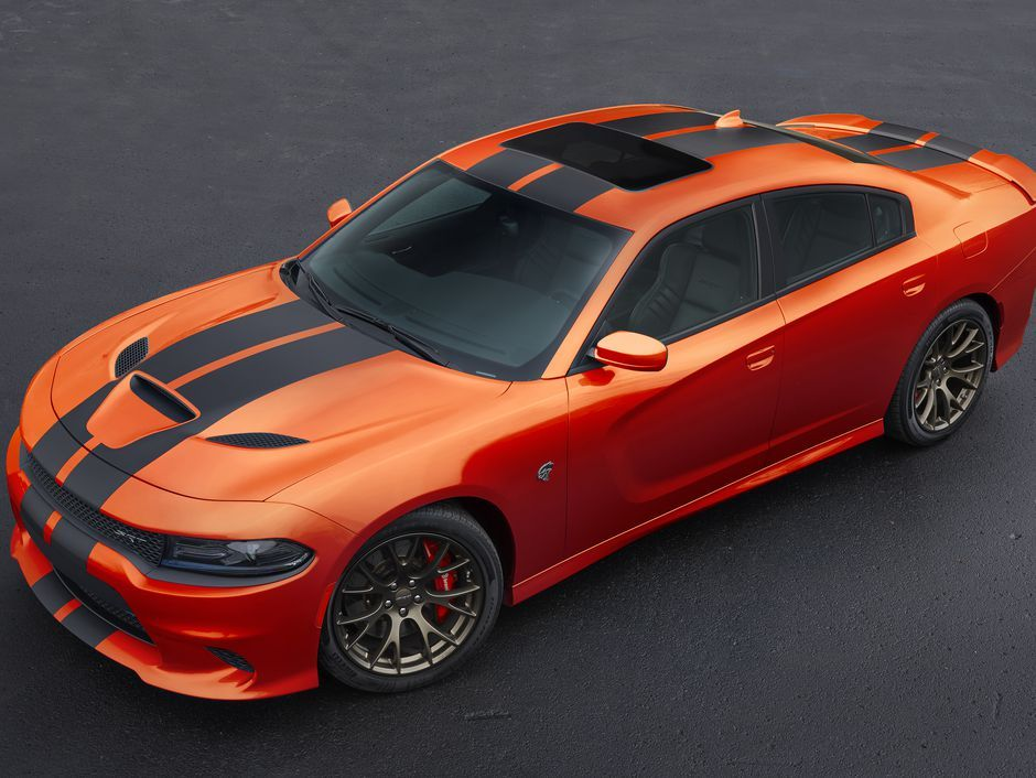 2016 Dodge Charger In Go Mango Paint