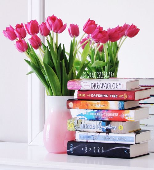 """graceslibrary: """" My May book haul! 😊📚🌷 """""""