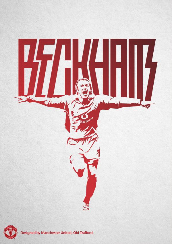Manchester United On David Beckham Manchester United Manchester United Wallpaper Manchester United