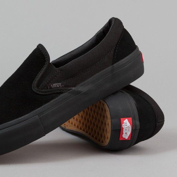Vans Slip On Pro Shoes Blackout Vans Slip On Vans Slip On Pro Slip On Boots
