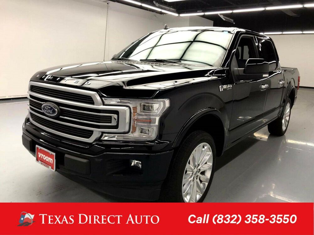 2018 Ford F 150 Limited Texas Direct Auto 2018 Limited Used Turbo