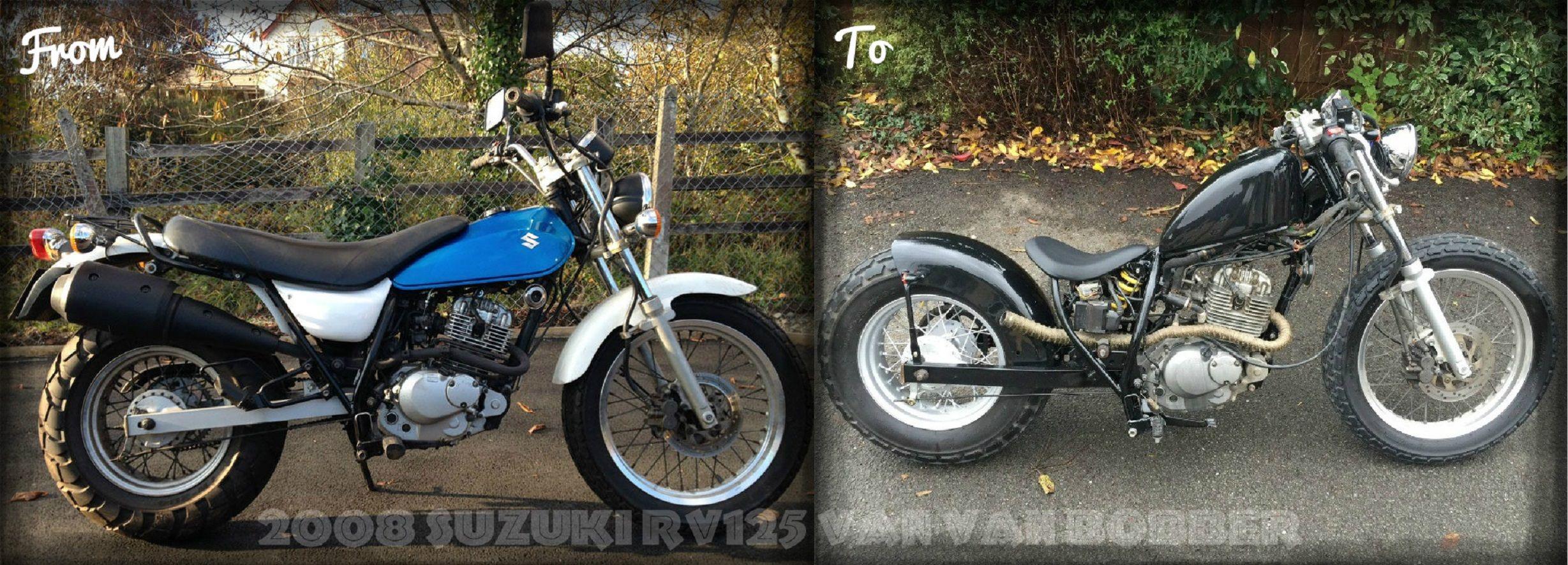 BEFORE - Suzuki RV125 Van Van. http://ebay.co.uk/itm/2003-Suzuki ...