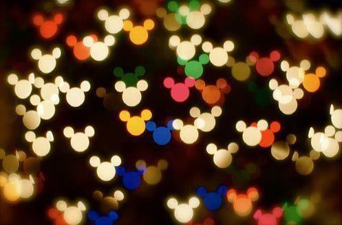 mickey light effect