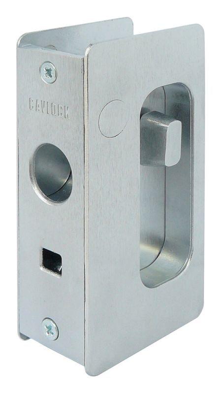 Cavilock Cl200a1015 Satin Chrome Privacy Pocket Door Set For 1 3 4 Inch Door Thickness Pocket Door Lock Pocket Doors Pocket Door Hardware