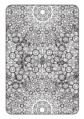 Art Therapy Printable Adult Coloring Book Downloadable Pdf 20 Coloring Pages For Adults With Bold Lines And Intricate Patterns Art Therapy Coloring Book Coloring Books Adult Coloring Books