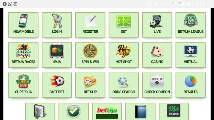 Bet9ja application