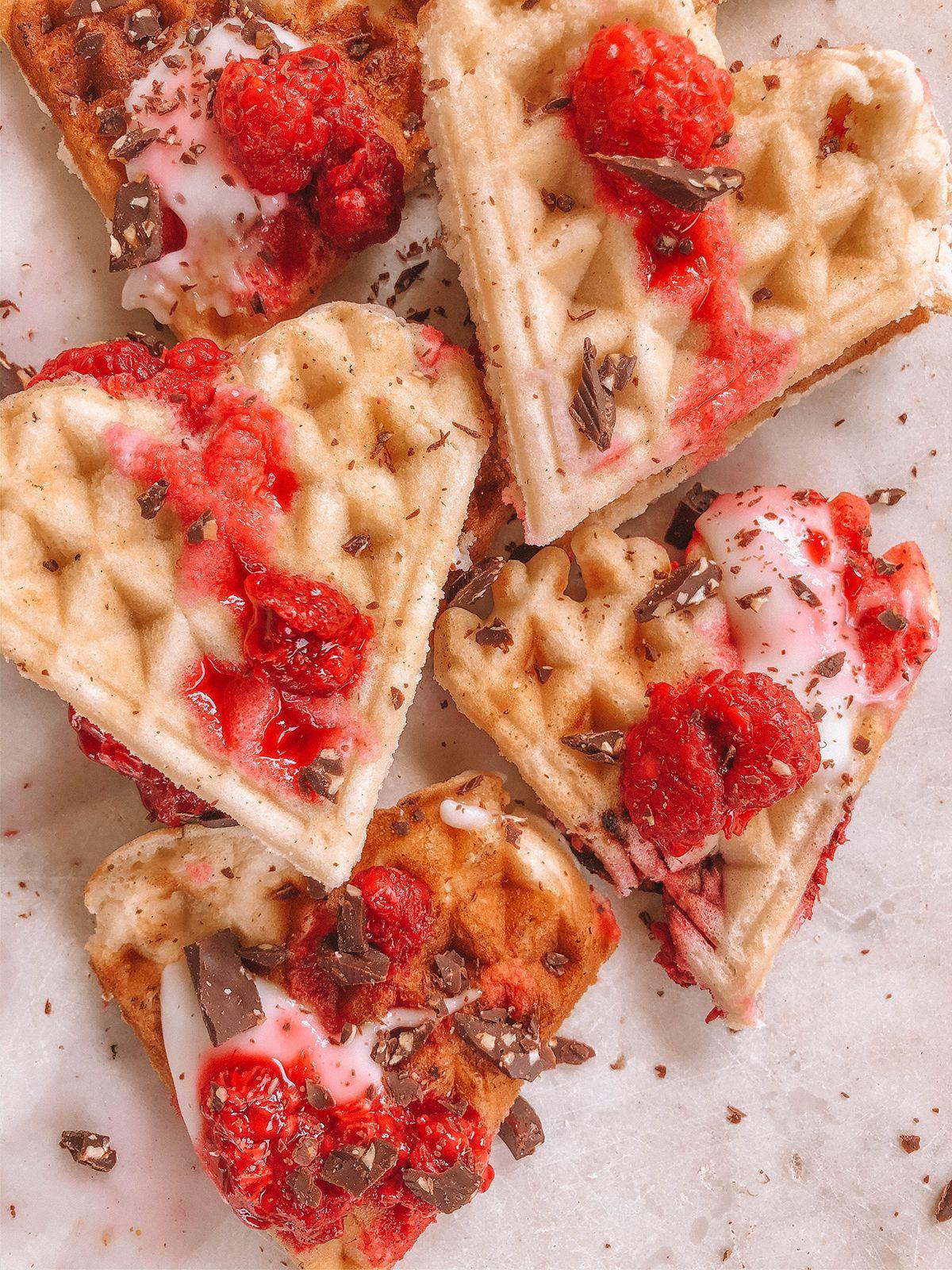 Oilfree Vegan Waffles When Sweet Becomes Healthy Recipe In 2020 Vegan Waffles Vegan Waffle Recipe Easy Oil Free Vegan
