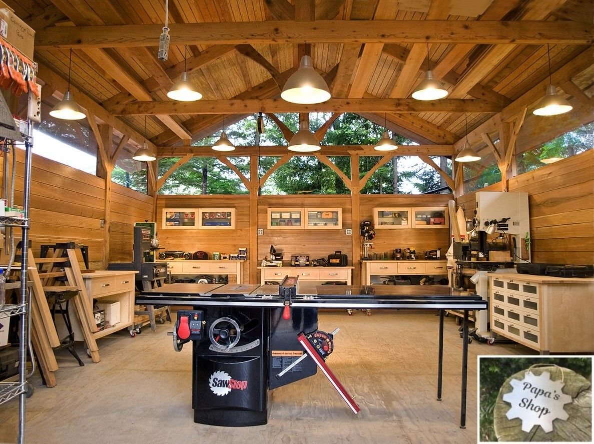 How To Create Your Own Garage Workshop Timber Frame Building