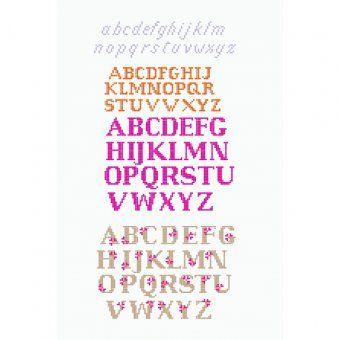 Personalize Personalizza 1 - Alfabeti - Schema