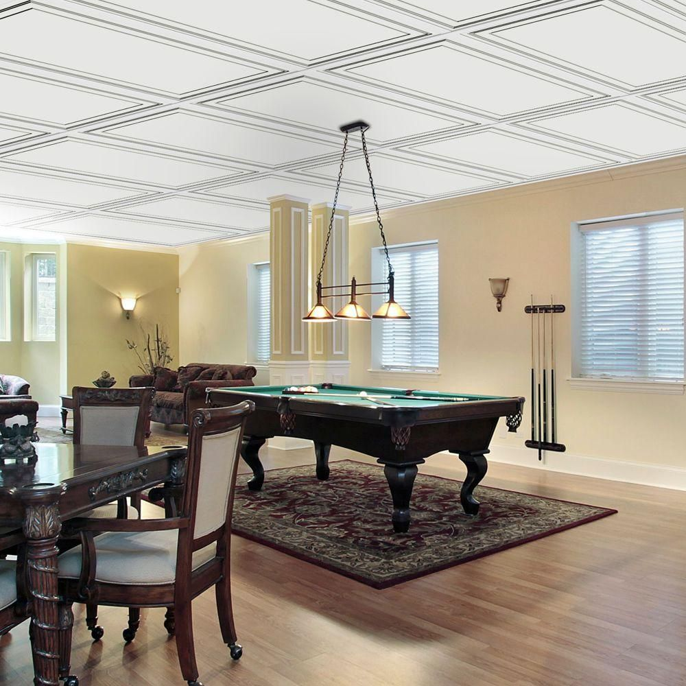 Wall design 2 ft x 4 ft aria suspended grid panel ceiling tile aria ceiling tile is a painted affordable ceiling tile that enhance your decor it put more style in any room as it will accommodate all type of existing dailygadgetfo Image collections