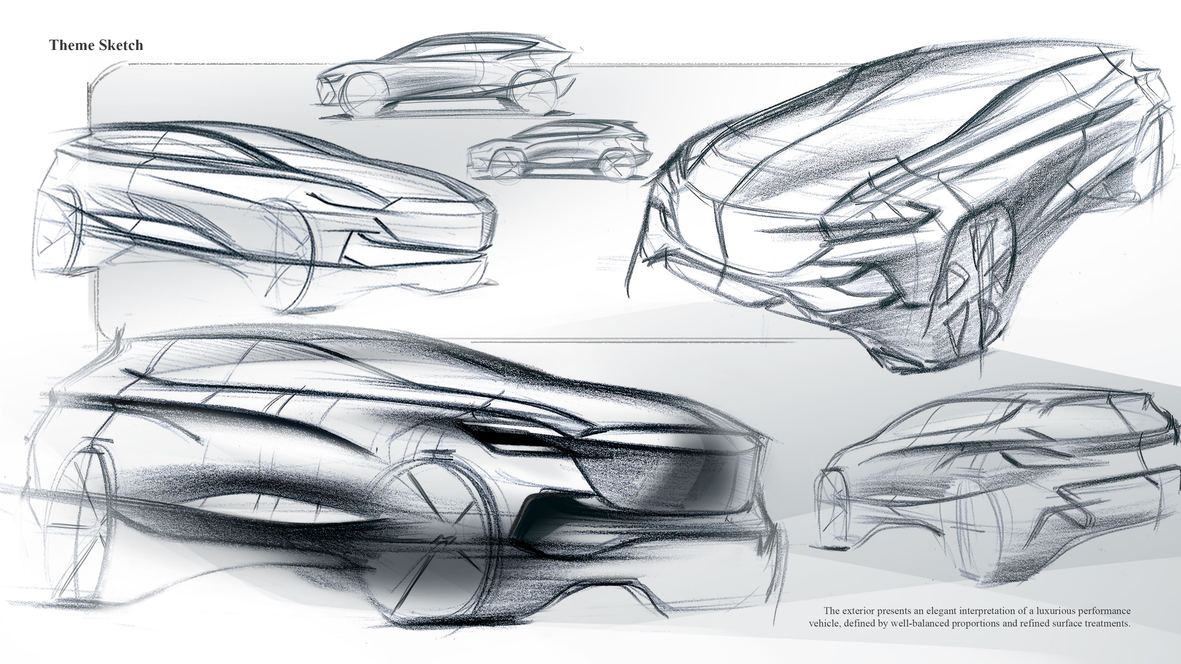 Luxury Suv Of Genesis Sketch On Behance Tech Pinterest