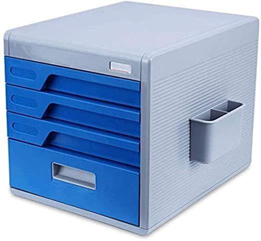 File Cabinet File Cabinets Vertical 4 Drawer Desktop Data Storage Box Plastic Password Lock Office Cabi Mobile File Cabinet Office File Cabinets Filing Cabinet 4 drawer locking file cabinets