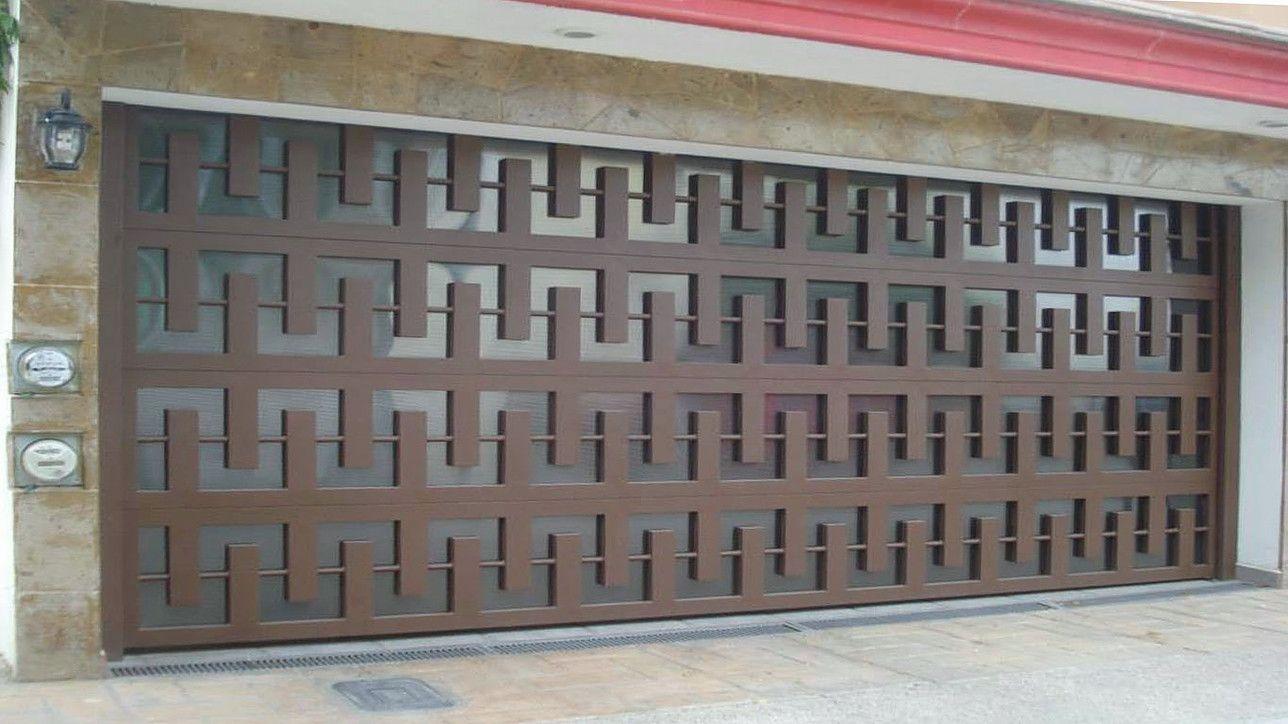 Puertas Automaticas Intesmex Mexico D F 2015 Puertas Herreria Diseno De Porton Principal Puertas De Garage Modernas