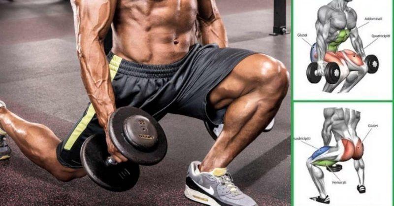 Top 5 Dumbbell Exercises for A Leg-Destroying Workout #dumbbellexercises Top 5 Dumbbell Exercises for A Leg-Destroying Workout - GymGuider.com #dumbbellexercises
