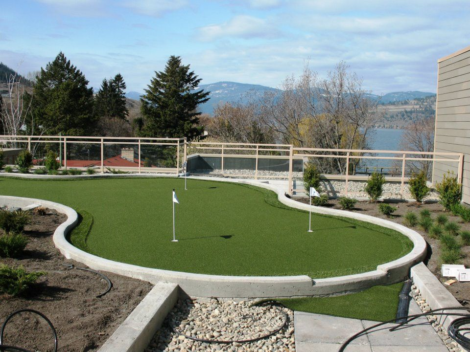 Rooftop Putting Green With Synlawn Synlawn Golf