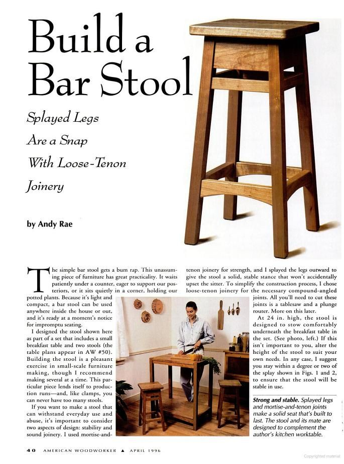 Bar stools seem to have graced every home in America at one time or another   My family ran into a need recently since I am building a pub table for a sun room   I have been exploring my options and even included a plan for a Pub Table a few weeks back  If you look at … is part of Diy bar stools -