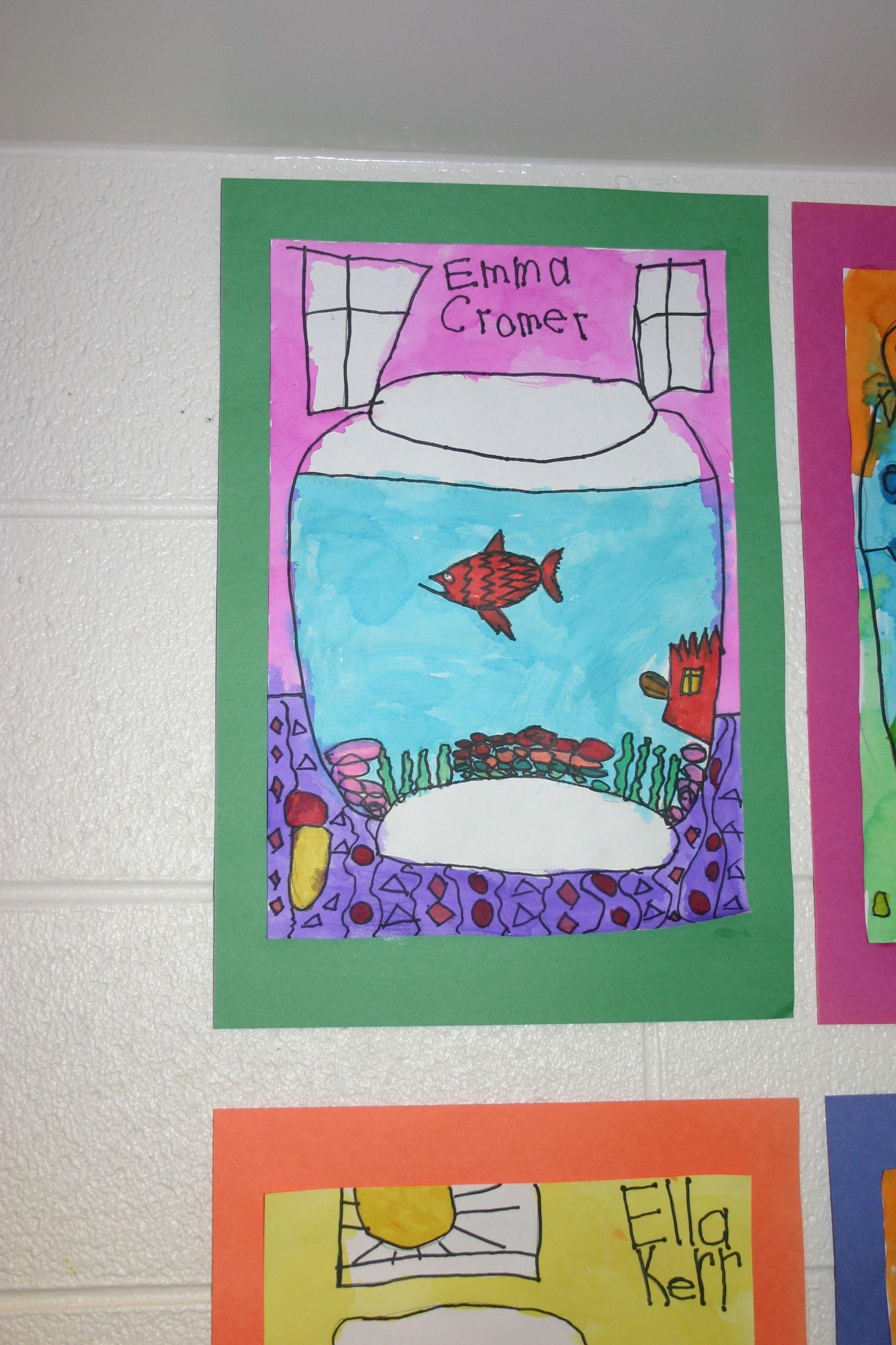 Kindergarten Fish Bowl