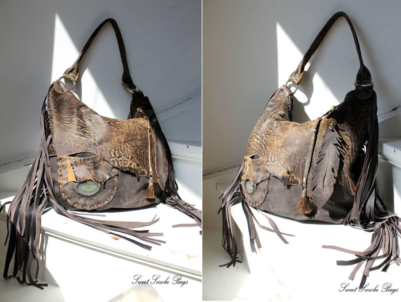 photo Perfect DIY Leather Fringe Bag