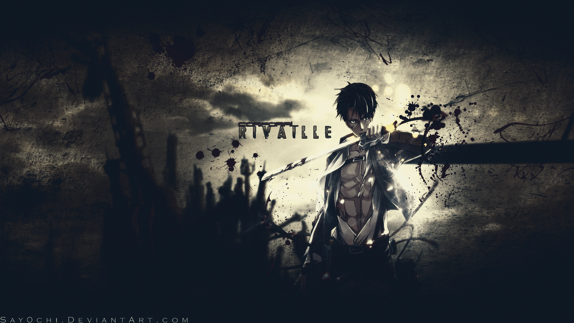 Corporal Rivaille Shingeki No Kyojin Wallpaper By Say0chi Attack
