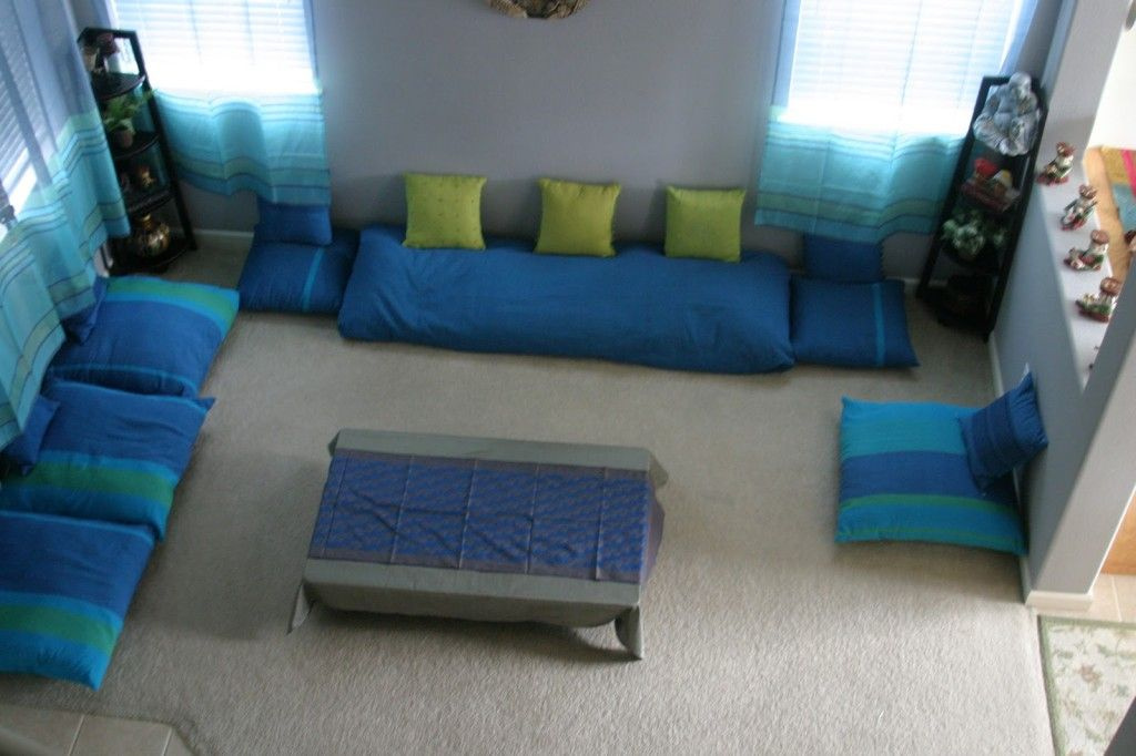 Living room bhartiya seating arrangement living room - Cushion flooring for living rooms ...