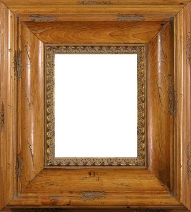 Kinsley Transitional Scoop Design Pine Wood Frame Frames For Sally