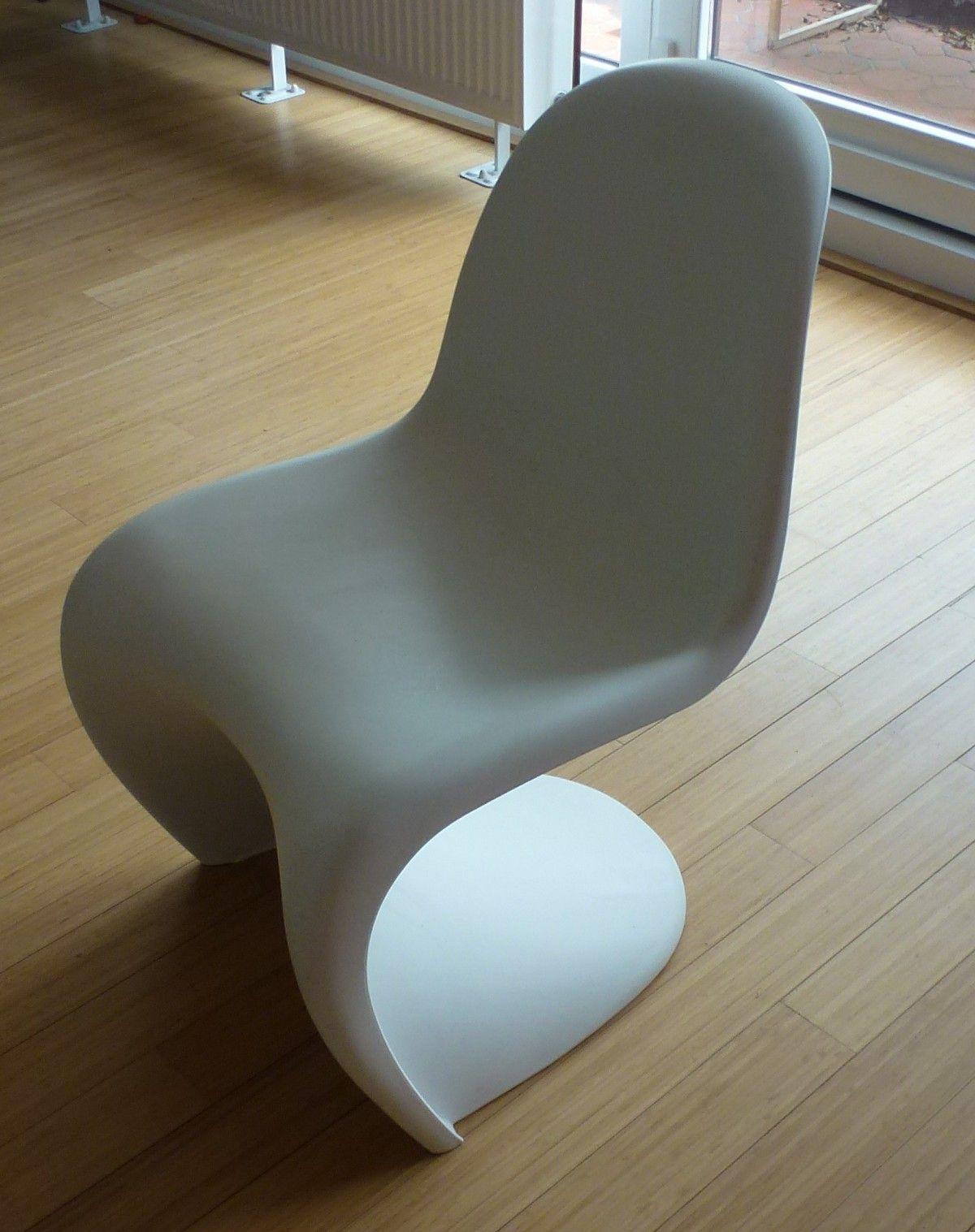4 Chaises Panton Blanche Chaise Panton Amenagement Maison Mobilier Design