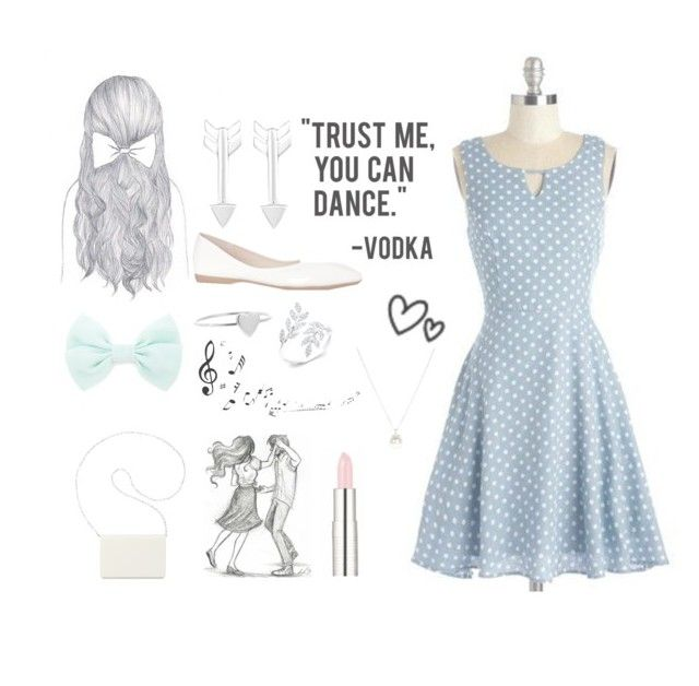 """""""Swing dance"""" by basic-bo ❤ liked on Polyvore featuring Forever 21, Jennifer Meyer Jewelry, Givenchy, Anne Sisteron, Accessorize, Nine West and Music Notes"""
