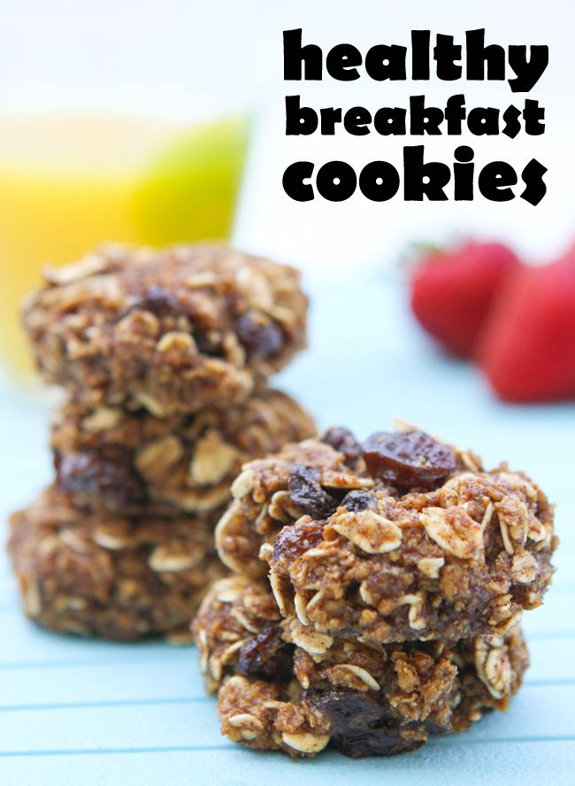 Healthy BreakfastCookies from pipandebby.com...my boys LOVE these and they are totally healthy.