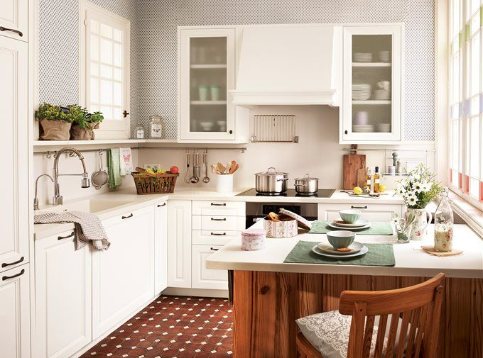 Grandes ideas para cocinas pequeñas | Cocinas, Cocineros y Ideas ...