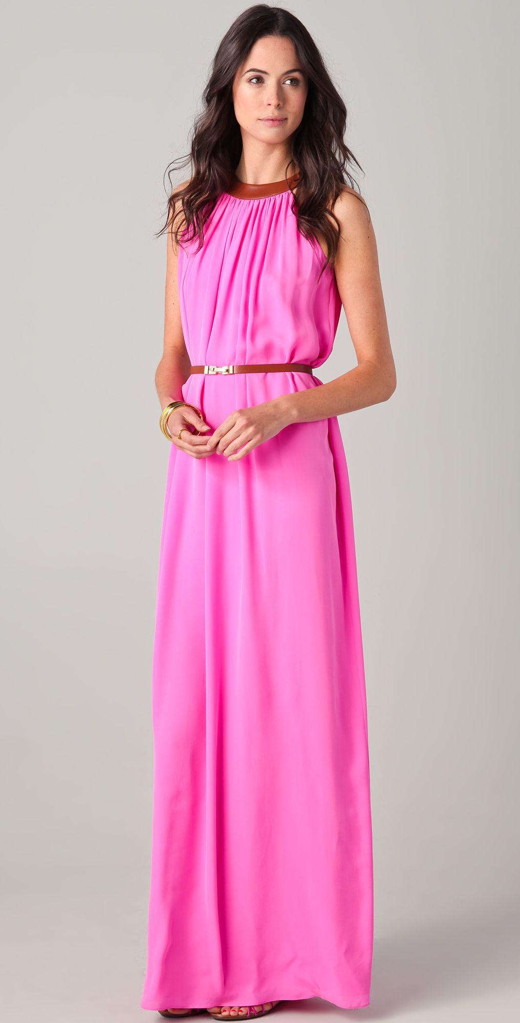 hot pink bridesmaid dress | Hmm ... What to wear | Pinterest | Hot ...