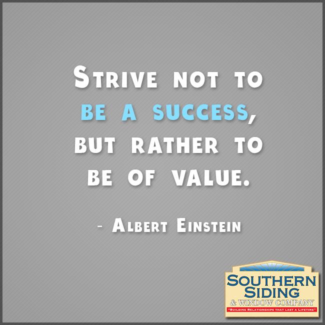 Success value Success Albert Einstein Southern