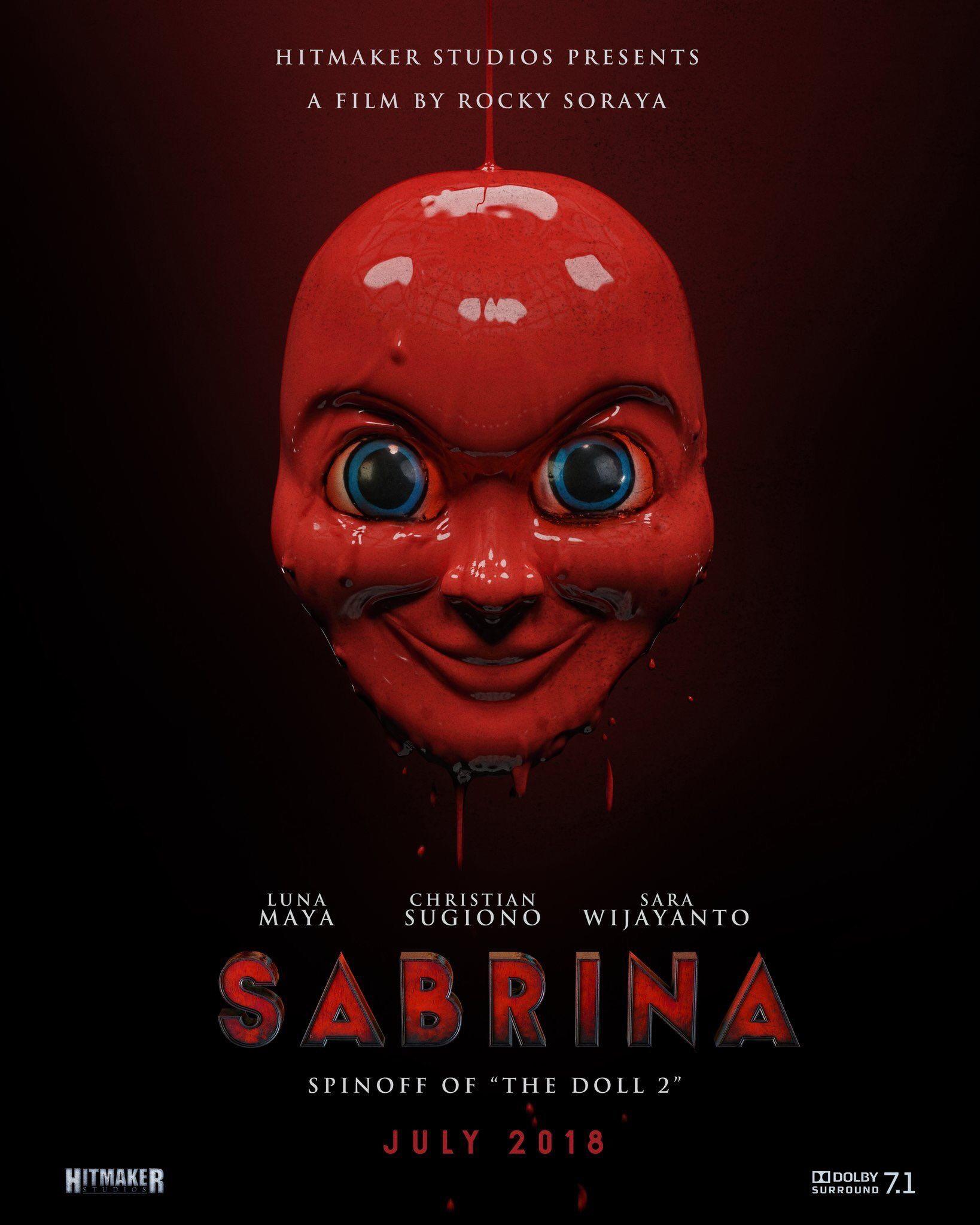 Sabrina Poster Film Indonesia Movies Film Movie Posters