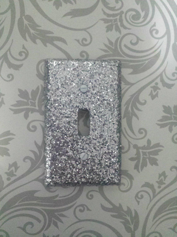 Sparkly Metallic Chunky Shiny Silver Glitter Bling Light