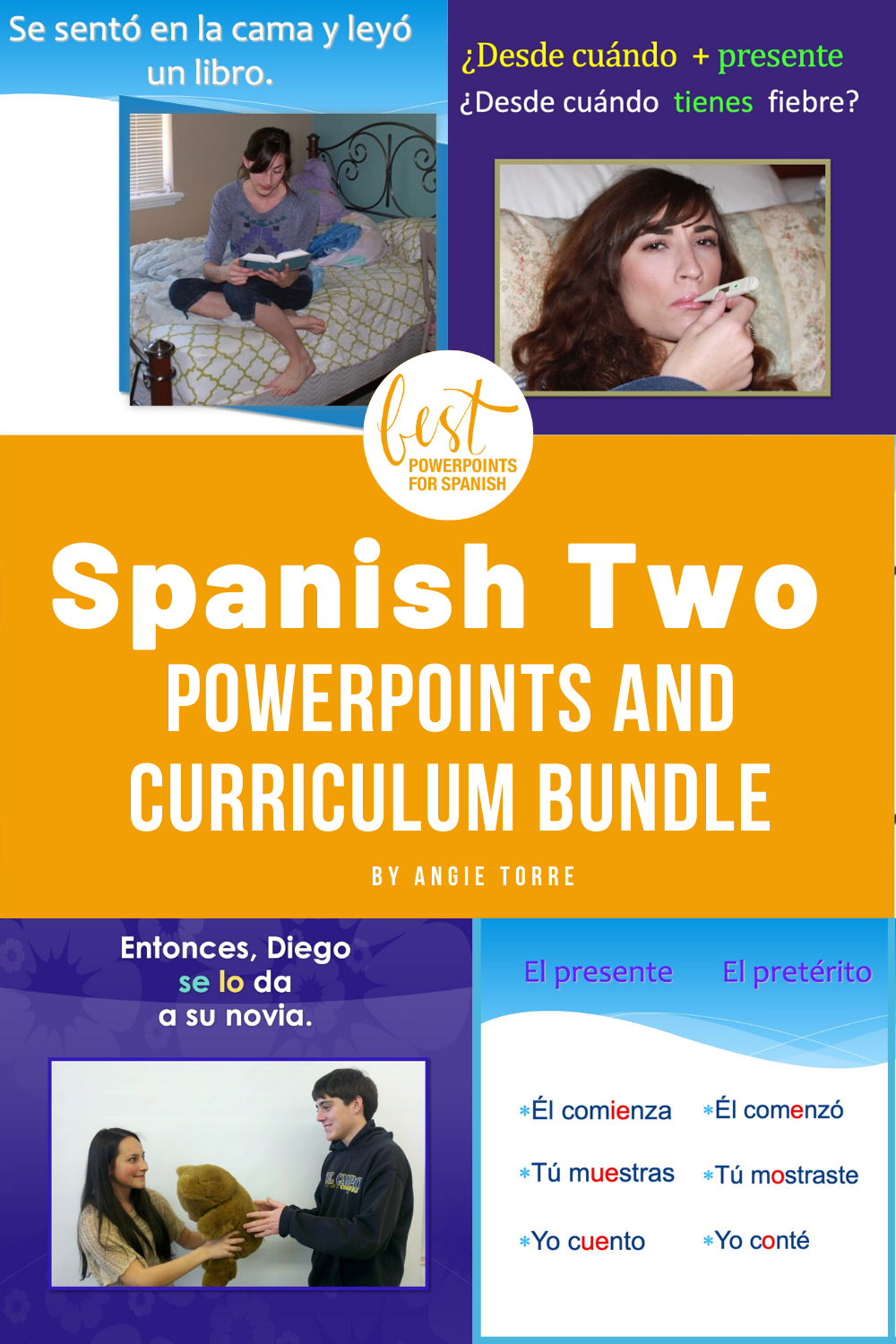 Spanish Two Powerpoints And Curriculum Bundle Spanish Lesson Plans Google Drive Activities Spanish Curriculum