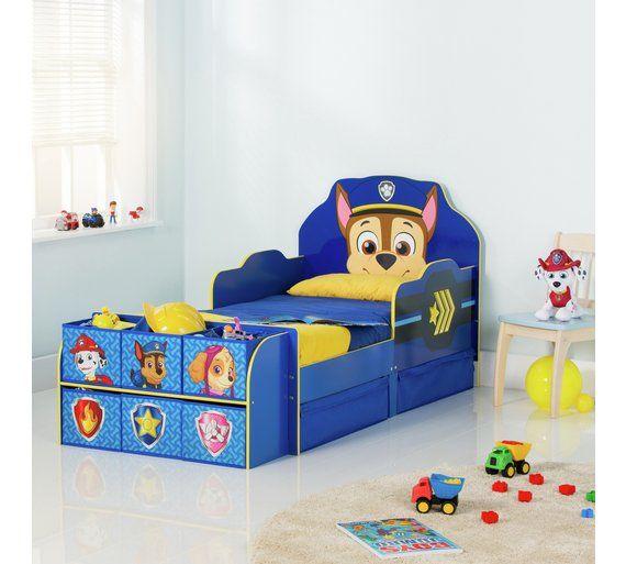 Buy Paw Patrol Cube Toddler Bed Frame  Blue at Argosco