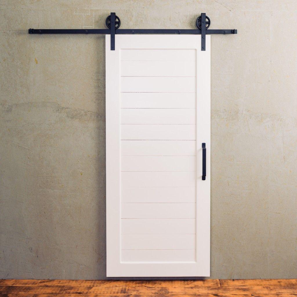 Craftsman Horizontal Panel Door Artisan Hardware Barn Doors Sliding Wood Doors Interior White Barn Door