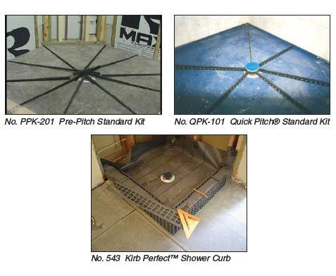 Goof Proof 3 In 1 Standard Shower Kit Shower Kits Custom Shower