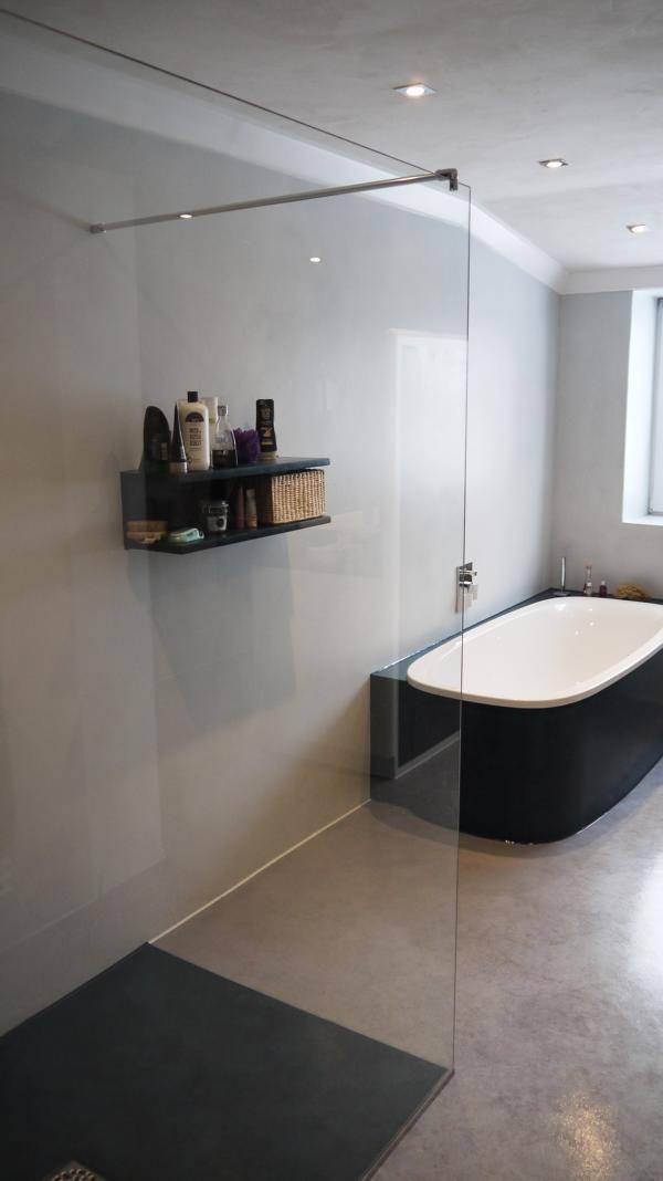 Eine edle und modere atmosph re haben fugenlose b der sowieso doch den besonderen charme - Edle badezimmer ...