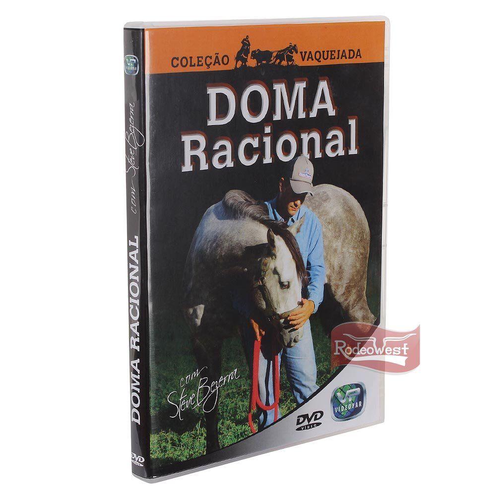 DVD Doma Racional p/ Cavalos de Vaquejada - Steve Bezerra