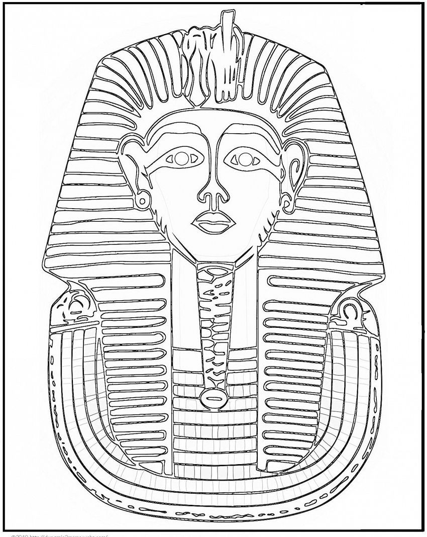 Ancient Egypt Coloring Pages For Kids On Colors Of Pictures Com Oude Egyptische Kunst Egypte Egyptische Kunst