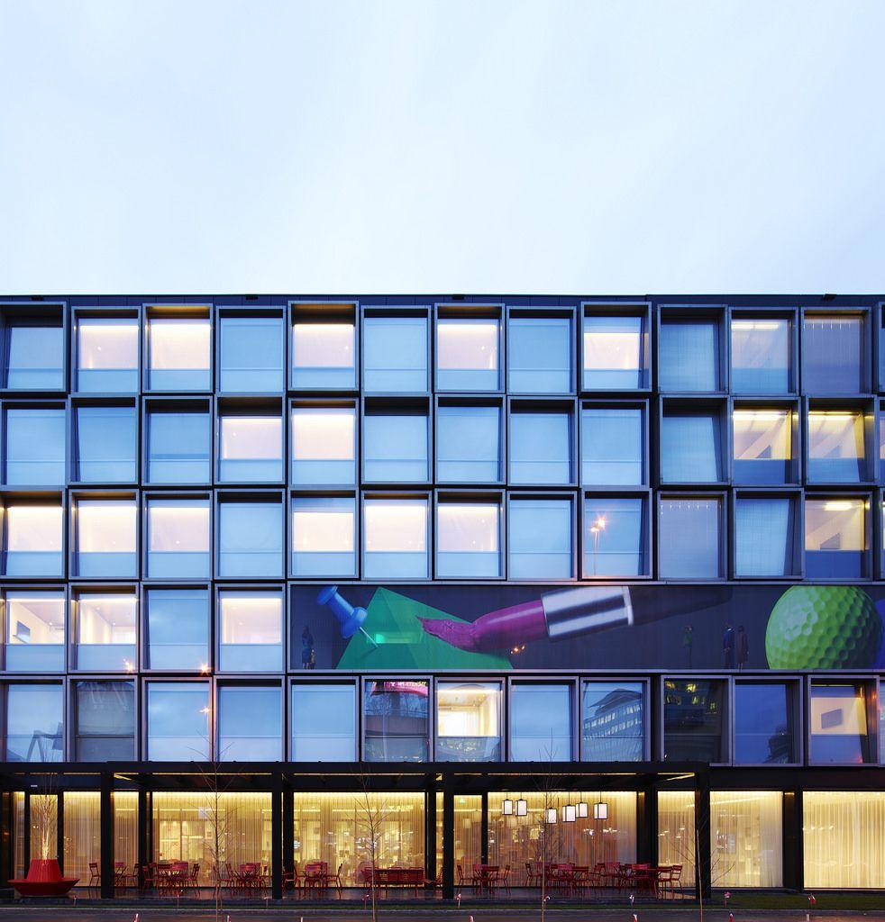 Hotel Exterior Design Architecture Affordable Ideas Modern: #citizenM #Schiphol #design #hotel #architecture