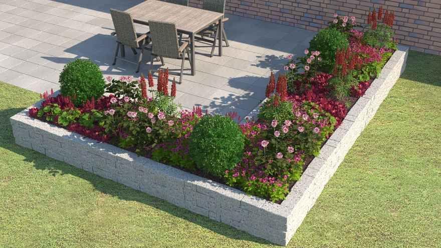 Heisse Liebe Gartenbeet Gestalten Pflanzen Gartenkunst