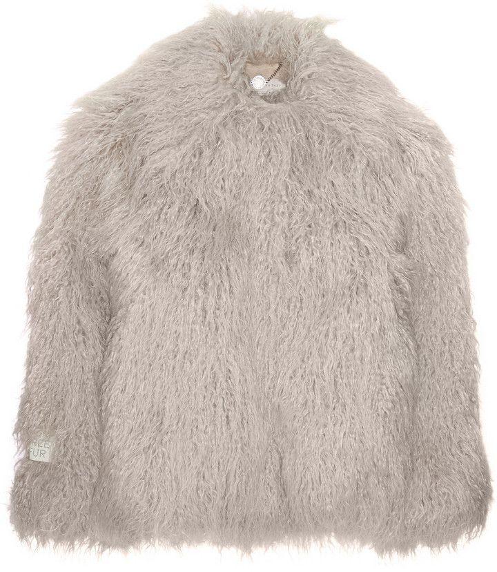 Stella McCartney Stella Mccartney Faux Fur Coat