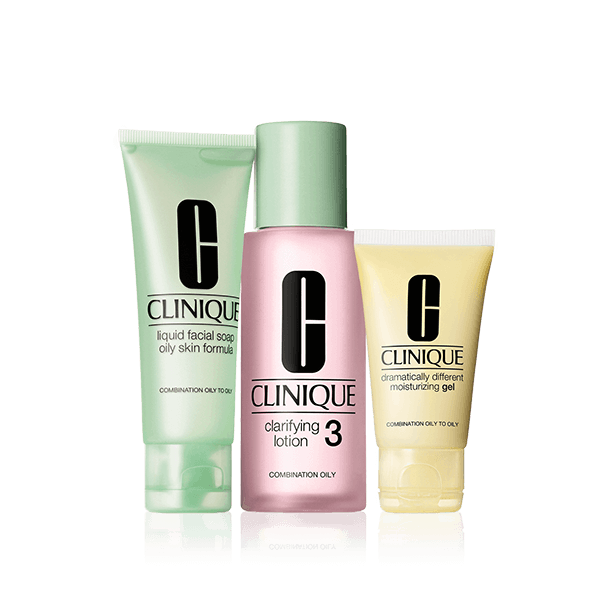 3 Step Introduction Kit Skin Type 3 Clinique In 2020 Clinique Skincare Skin Types Facial For Oily Skin