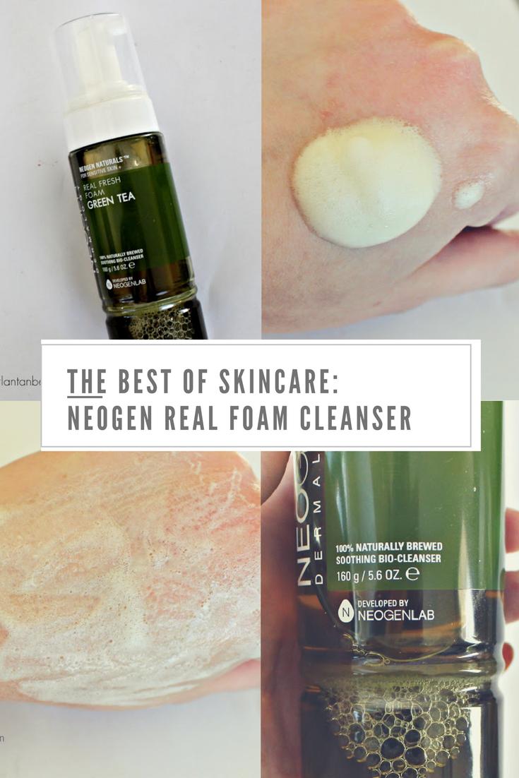 Green Tea Real Fresh Foam Cleanser by neogen dermalogy #3